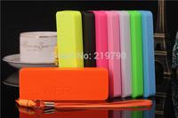 Ultra-thin Perfume 5600mAh USB External Backup travel wall charger Power Bank portable for iphone Android free shipping 10pcs