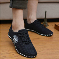 Summer 2014 New Comfortable Breathable Men's Shoes Fashionable Men's Sneakers Mesh Surface Hollow out Casual Shoes  3256