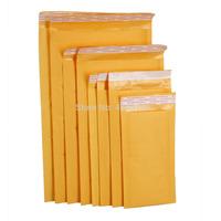 "free shipping 50pcs/lots  #1 7.25*12"" Kraft Paper Bubble Mailer Padded Envelope"
