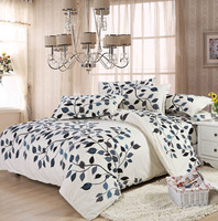 Reactive Printing 4 Pcs bedding sets include Duvet Cover Bed sheet Pillowcase,king/Queen/Full size,Free shipping!