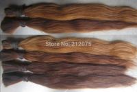 """12""""-26""""inches   European Human Hair *Russian Hair *Bulk virgin hair* Remy  hair*200grams or 500grams/lot"""