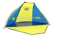 Pop up 2-3 person beach sun shelter, beach tent, fishing tent for beach