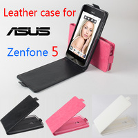 Free Shipping!!! Original High Quality Multi-Colors Flip Cover Leather Case for 5.0'' ASUS zenfone 5 Smartphone. Newest Arrivals