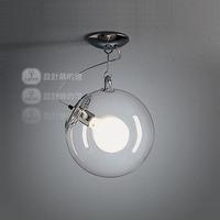 Lamp brief balcony stair bar art lamp soap-bubble ceiling light