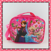 20 Sets frozen Cartoon Free Shipping Kids Lunch Bag / Box Set (3pcs per set) Gift Hotsale
