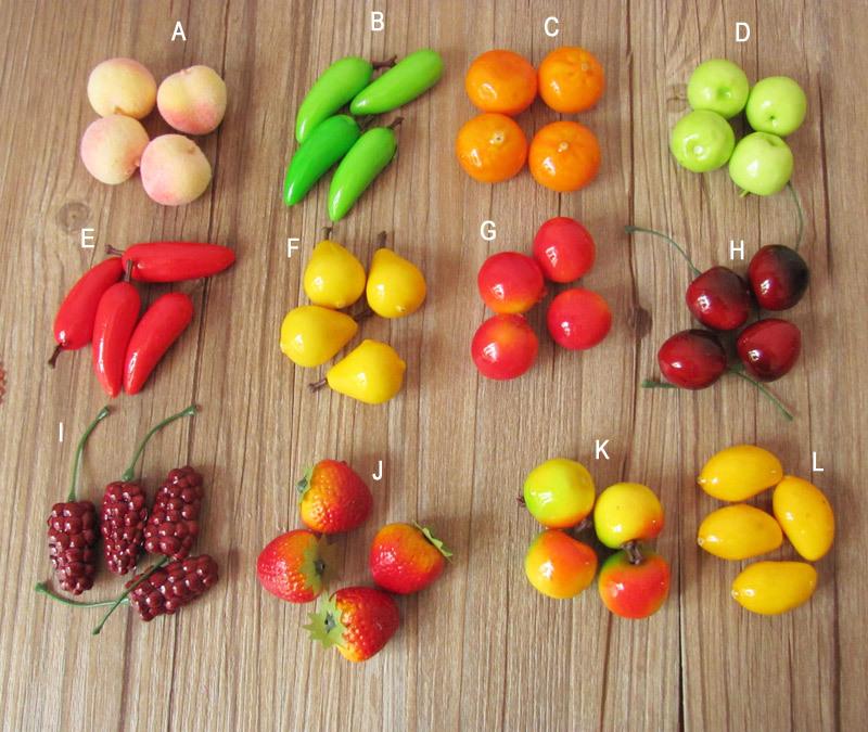 Макеты овощей и фруктов своими руками 2