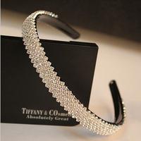 Fashion crystal headbands rhinestone hairband hair acessories for women hair jewelry
