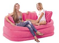 Intex modern sofa set living room furniture inflatable sofa air Poltrona157cm*86cm*69cm include 2 back cushion