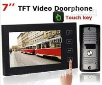 Wholesale - 7 Inch TFT Touch Screen Color Video Door Phone Cmos Night Version Camera Intercom System H461