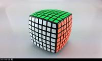 New Moyu Aofu 7x7 black moyu 7x7x7 puzzle & Aofu 7x7x7 black