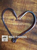 Free Shipping!!! 100Pcs/Lots M&X Japanese Chemically Sharpened Octopus Fishing Hooks,Fishing Tackle 1/0 2/0 3/0