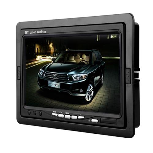 "Car DVR 7"" TFT LCD Monitor for CCTV Reversing Rearview Camera 12V 6W()"