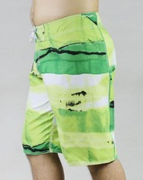 BRAND NEW Mens Blue/Green Striped Boardshorts Bermuda Swim Trunks Surf Shorts Beach Pants 30 32 34 36 38 BNWT Free Shipping
