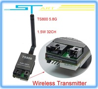 Drop shipping 2014 New 32 frequencies 1.5W TS800 FPV 5.8G 32CH 1500mw Wireless AV Transmitter for Drone rc quadcopter X3 boy toy