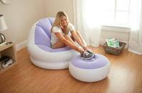 Intex sofa set living room furniture bed sofa air sofa bed 109cm*104cm*71cm,include repair patch.