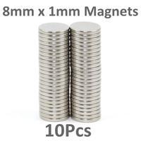 в складе новых 100шт небольшой неодимовый диск Магниты 4 мм dia x 1 мм n35 - Крафт wargaming
