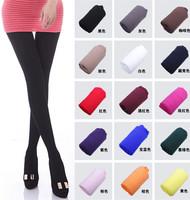 21 Colors 2014 Woman's Leggings Fashion 100% Velvet Candy Color Pantyhose Plus Size Multicolour Stovepipe Leggings Women