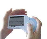 Freeshipping Portable Handheld ECG EKG Heart Monitor - CD, 3-lead & Electrodes Cable Included Personal Care Healthy