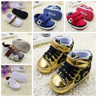 NEW 2014 brands hot Slip-on Baby shoes First Walkers Girl/boy Footwear Soft bottom toddler/Infant/Newborn antislip sapatos R2234