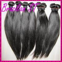 "For your Queen hair Kinky straight Brazilian virgin hairs[4pcs 12""-30""] Excellent human hair weaves bundles best deal!"