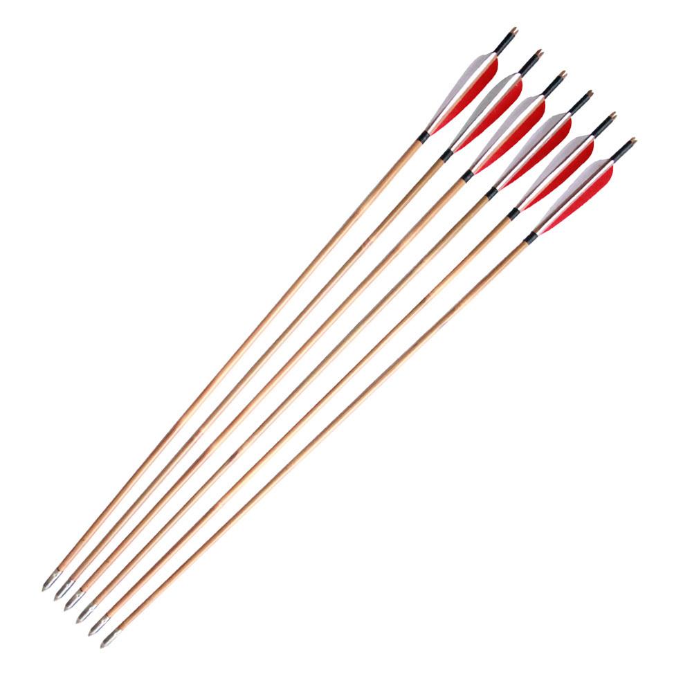 Arrow traditional chinese longbow arrow handmade arrows turkey feather
