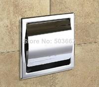 e-pak CZJ8706D 304 Stainless Steel Toilet Box Toilet Paper Box Toilet Paper Holder Bathroom Tissue Box Toilet Paper Holder