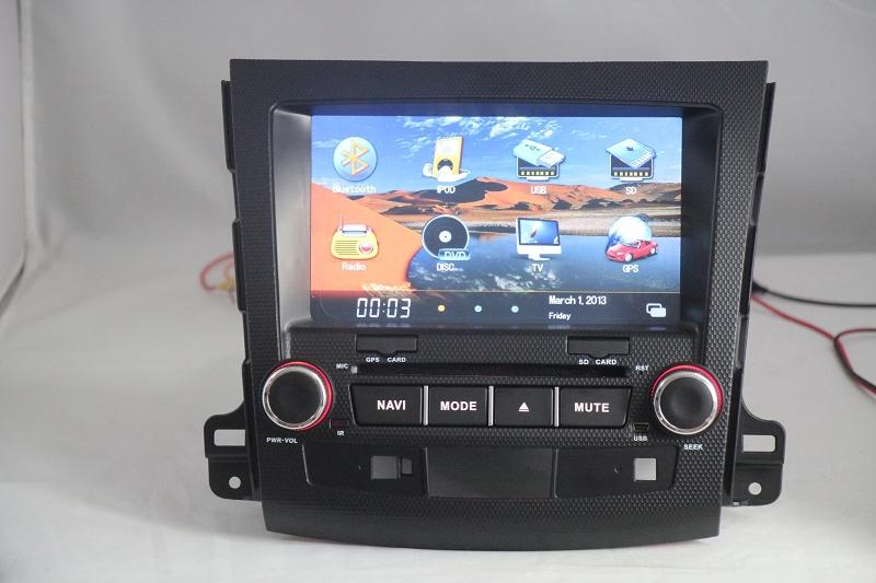 free shipping Car GPS DVD Head Unit for Mitsubishi Outlander / XL / EX 2007 - 2012 with Wifi / 3G Host Radio Audio Video Playe()