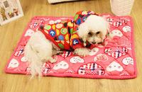 Dog cat ticken coral velvet blanket polka dot mickey pink heart pet mat Puppy bedding Ultra soft pad S,M,L size Free Shipping