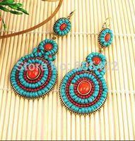 Fashion Earrings + Seed Beads Earrings  + Free Shipping