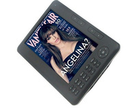 New 7 inch Ebook Reader  800*480 Pixels screen4GB with MP3/MP4 Digital photo frame function