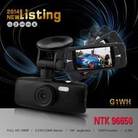 "2.7 "" Novatak 96650 Car Camera DVR Full HD 1920*1080FHD 30FPS With WDR + 140 Degree Angle Lens + G-Sensor"