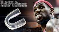 2pcs/lot  basketball mouthguard /Sanda boxing martial arts taekwondo protective devices/Genuine silicone single-sided tooth 0625