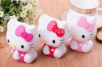 Hot 20pcs/lot 11000mAh USB Portable Battery Pack Power Bank Hello Kitty 3D Cartoon Design For iPhone and Samsung Galaxy