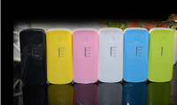 10pcs/lot New 2nd 5600mah Power Bank USB External Battery charger for iPhone iPod Samsung HTC+Micro usb cable+Retail box