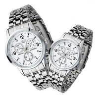 Fashion belt men's watches waterproof non-mechanical watches quartz watch free shipping