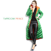 Instant perfect slim lengthen down coat female taproomprince top