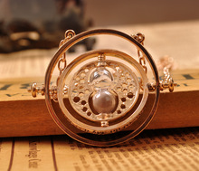 Sunshine jewelry store Harry Potter Rotating Time Turner Necklace ( $10 free shipping )