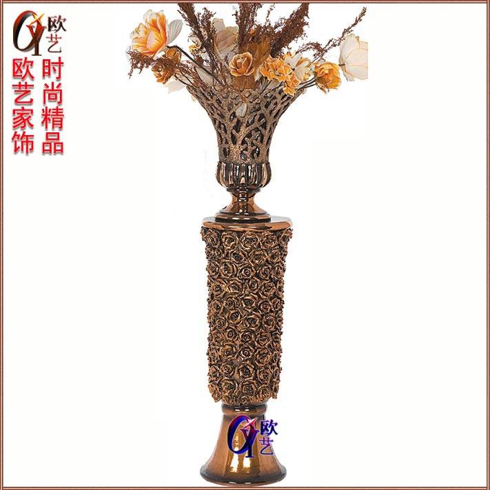European-style living room floor boutique Roman vase flower vase insert Korean garden floor vase Auchan IKEA(China (Mainland))
