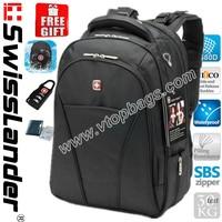 15.6 inch Swisslander,Swiss Army,Swiss Laptop backpack,Computer backpack,Laptop bag,Computer bag with sleeve,raincover,lock