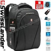 Swisslander,SwissArmy,Swiss Laptop backpack,Computer backpack,Laptop bag,Computer bag with sleeve,raincover,lock,knife card