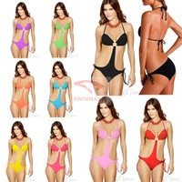 8 colors Ouma poly piece swimsuit bikini 2013 new chest piece Factory Outlet VS002