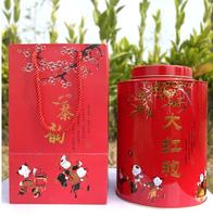 500g Top Grade Newest clovershrub Da Hong Pao Red Robe dahongpao Oolong Tea Lose weight the tea black antifatigue green food