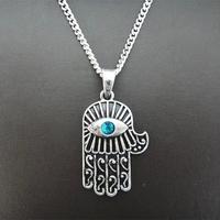 New Arrival Novelty Big Evil Eye Pendant Imitation Blue Grem Necklace Drop Shipping Jewelry