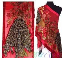 wholesale red velvet scarf
