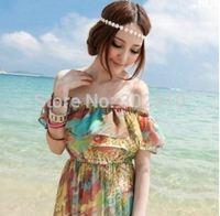 Free shipping! HA019 Fashion vintage bohemian vacation beach shell hair accessories headband hair chain wholesale