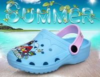 2014 children's sandals for summer  kids clogs summer  EVA sandals for girls and boys beach slippers