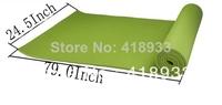 1PCS Beginner 10MM fitness yoga mat household cushion fitness blanket equipment slip-resistant pad E616 Free shipping