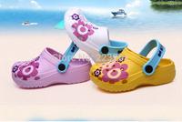 2014 children's sandals for summer EVA sandals for girls and boys beach slippers kids clogs