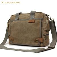 Thicker Canvas Brand New 2014 Fashion Bag Male Casual Handbag Travel Bag Men Messenger Bag Shoulder Bags For Men 2 Colors