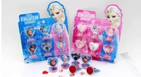 free shipping 24set Cartoon Frozen Children's cartoon stationery stamper set